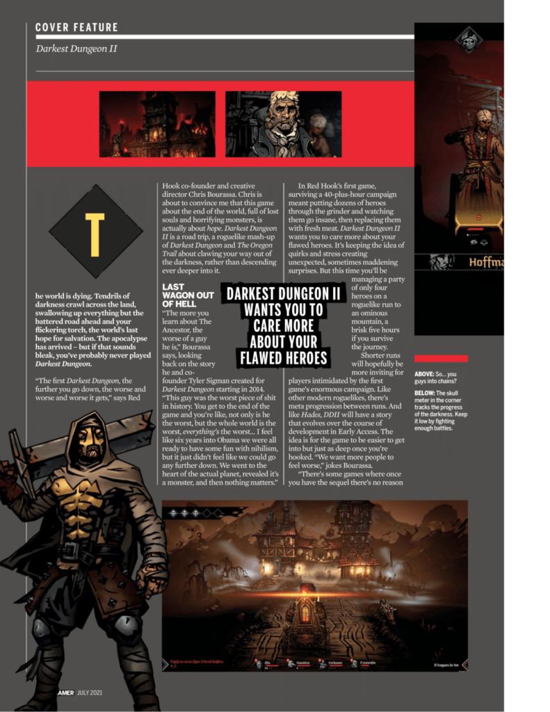 Подробности Darkest Dungeon II из нового номера PC Gamer 3