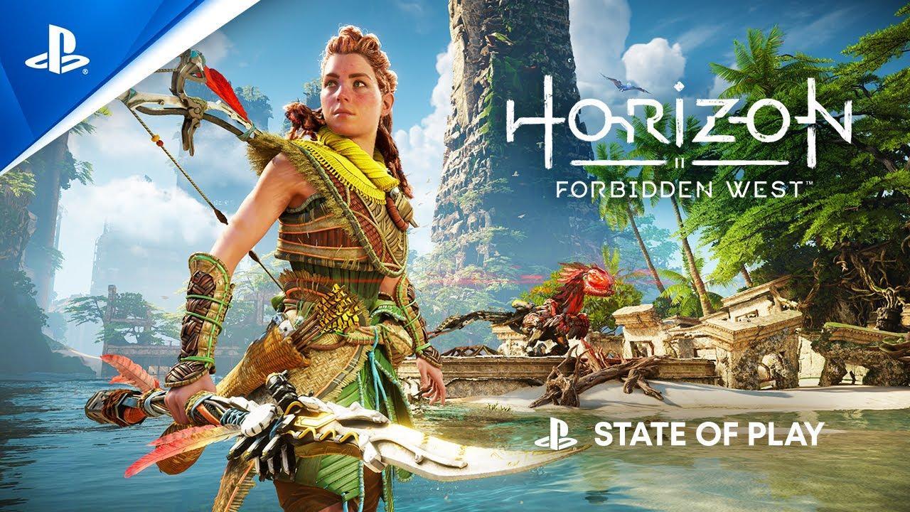 Sony показала первый геймплей Horizon Forbidden West 2