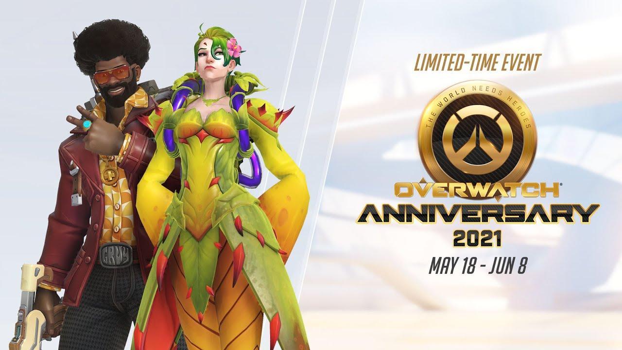 Blizzard приглашает на празднование юбилея Overwatch, проекту исполнилось 5 лет 2