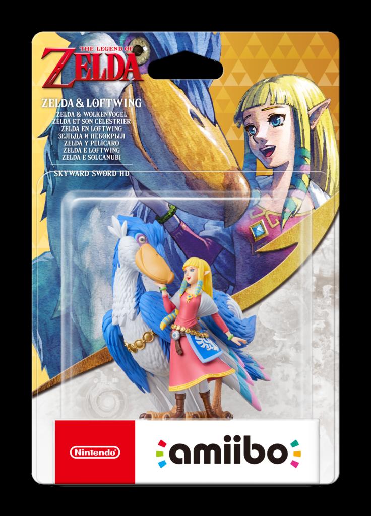 Фигурка amiibo «Зельда и Небокрыл» поступит в продажу вместе с The Legend of Zelda: Skyward Sword HD 1