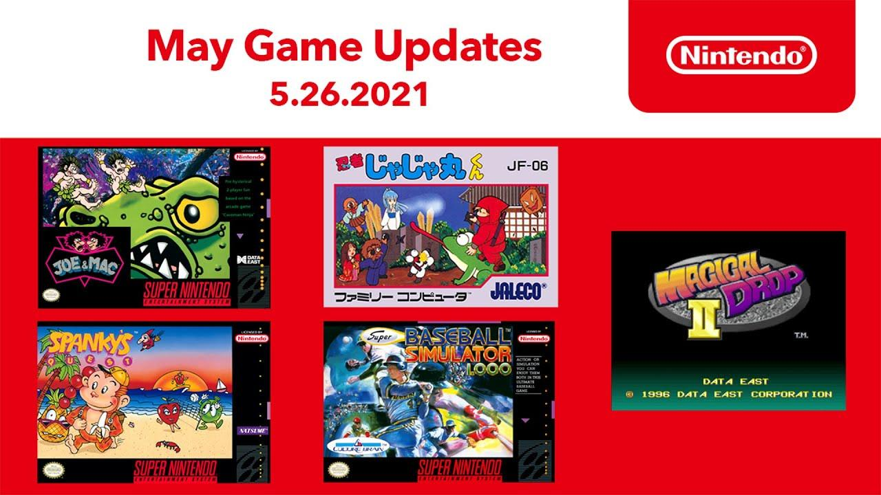 Nintendo Switch Online - в мае 2021-го подписчики получат четыре игры для SNES и одну для NES 2