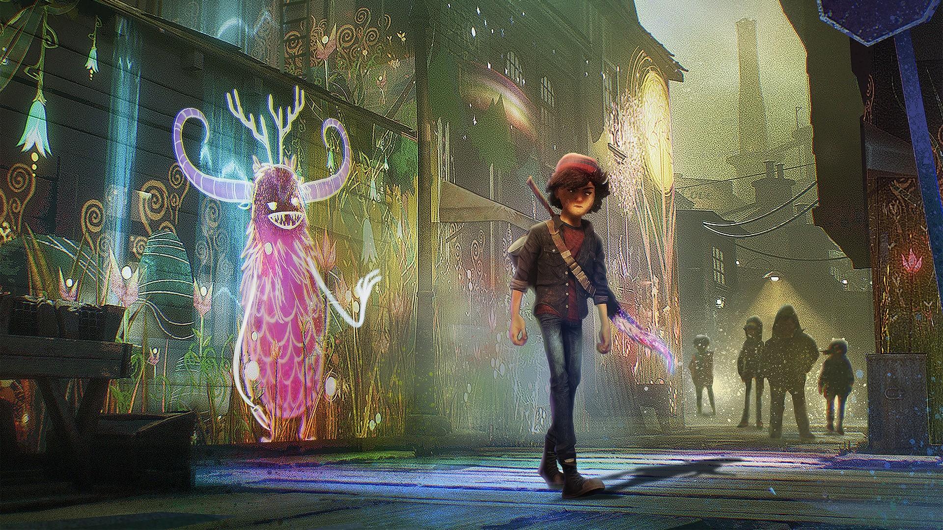 Разработчики Concrete Genie совместно с Sony Pictures Animation работают над новой игрой для PS5 2