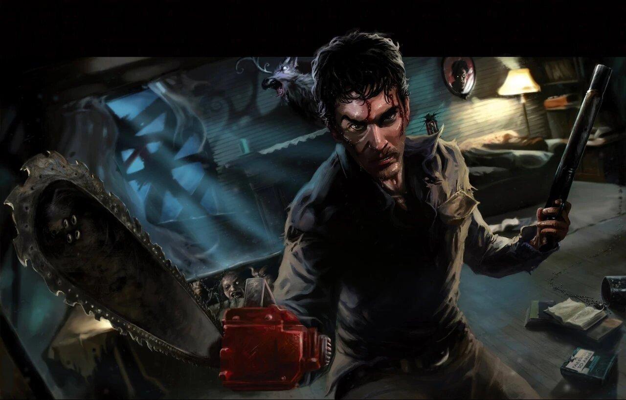 Бегите, глупцы - первый геймплей Evil Dead: The Game 2