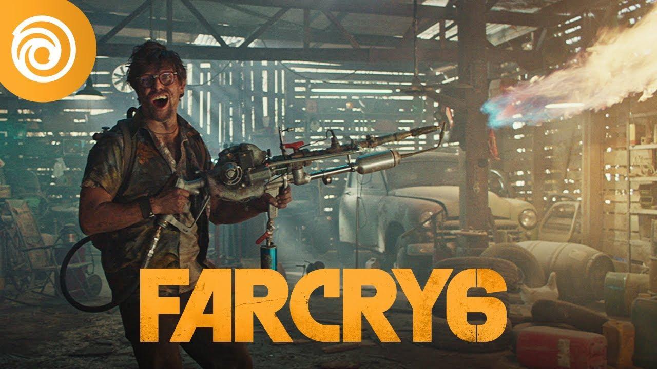 """Серия рекламных роликов Far Cry 6 - """"Не пытайтесь это повторить"""" 2"""