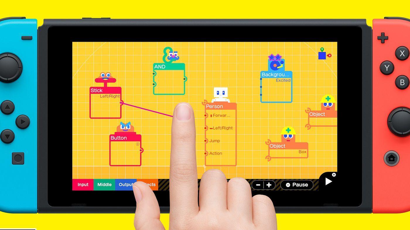 Учитесь создавать игры - на Nintendo Switch состоялся релиз Game Builder Garage 2