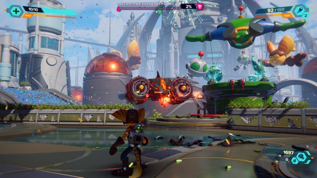 Обзор: Ratchet & Clank: Rift Apart - Параллельные миры, два героя, одна проблема 4