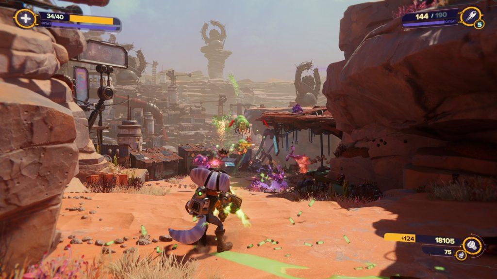 Обзор: Ratchet & Clank: Rift Apart - Параллельные миры, два героя, одна проблема 23